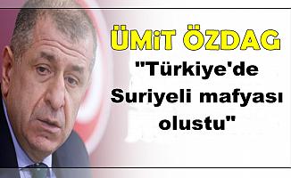 """Ümit Özdağ: """"Türkiye'de Suriyeli Mafyası Oluştu"""""""