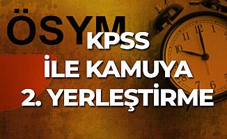 2019 KPSS'ye Girecek Kişiler için Merkezi Atama için Tercih Tarihleri