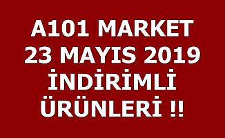 A101 23 Mayıs 2019 İndirimli Ürünler Aktüel Kataloğu