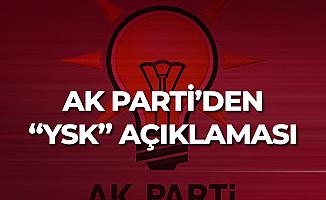 AK Parti Sözcüsü Ömer Çelik'ten Açıklama: YSK'nın Kararı...