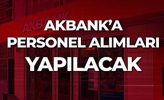 Akbank'a Engelli Gişe Yetkilisi, Çağrı Merkezi Personeli, Yarı Zamanlı Takım Asistanı Alınacak