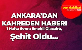 Ankara'dan Acı Haber! 1 Polis Şehit Oldu
