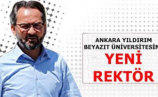 Ankara Yıldırım Beyazıt Üniversitesi Yeni Rektörü Prof. Dr. İbrahim Aydınlı Kimdir?