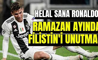 Cristiano Ronaldo Ramazanda da Filistin'i Unutmadı-İşte İftar İçin Gönderdiği Para