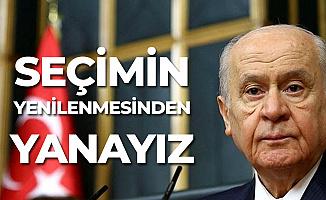 Devlet Bahçeli'den İstanbul Seçimleriyle İlgili Son Dakika Açıklaması