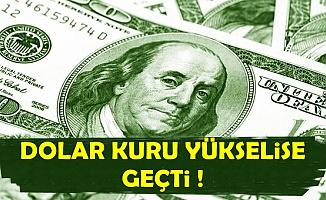 Dolar Kuru Enflasyon Sonrası Yükselişe Geçti-Güncel Döviz Kuru ve Altın Fiyatları