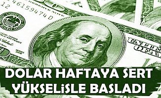 Dolar Sert Yükseldi-13 Mayıs 2019 Güncel Döviz Kuru ve Altın Fiyatları