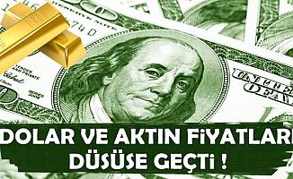 Dolar ve Altın Düşüşe Geçti-10 Mayıs Güncel Döviz Kuru ve Altın Fiyatları