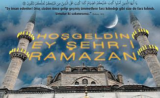 En Güzel Resimli ve SMS Ramazan Ayı Mesajları-Hoş Geldin Ya Şehri Ramazan