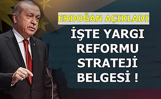Erdoğan Yargı Reformu Strateji Belgesini Açıkladı: Hukuk Fakültesinde Flaş Değişiklik