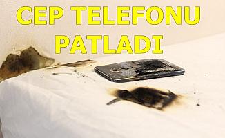 Feci Olay: Cep Telefonu Patladı