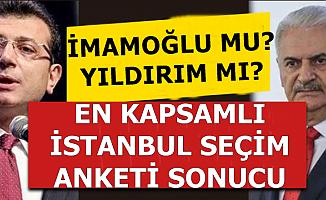 İstanbul İçin En Kapsamlı Seçim Anketi Sonucu Açıklandı (İmamoğlu mu , Yıldırım mı?)