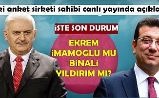 İstanbul Seçimleri İçin 2 İsimden Anket Sonucu Açıklaması