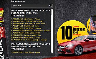 Nescafe Çekiliş Sonucu Açıklandı-İşte Mercedes ve Note 9 Kazananlar ve Yedek İsim Listesi
