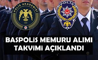 Polis Akademisi Başpolis Memuru Alımı Tarihlerini Açıkladı