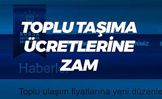 Resmi Açıklama Geldi! Bursa Büyükşehir Belediyesi'nde Toplu Taşımaya Zam