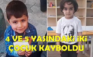 Rize'nin Fındıklı İlçesi'nde 4 ve 5 Yaşındaki İki Çocuk Kayboldu