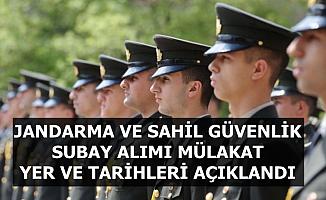 Sahil Güvenlik ve Jandarma Subay Alımı Sınav Tarihleri Açıklandı (Spor-Sözlü Mülakat)