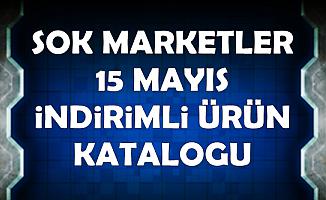ŞOK 15 Mayıs İndirimli Ürünler Aktüel Kataloğu