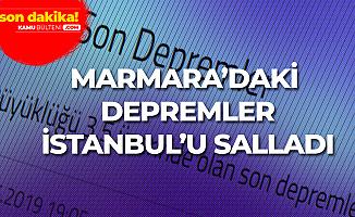 Son Dakika! Marmara Denizi'nde Deprem