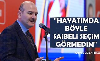Süleyman Soylu'dan Seçim Açıklaması: Hayatımda..