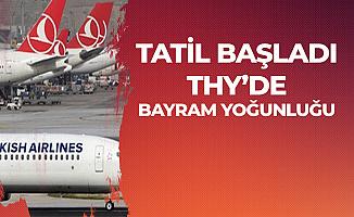 Türk Hava Yolları'nda Bayram Yoğunluğu '125 Ek Sefer'