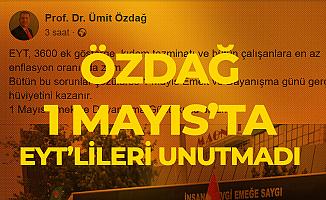 Ümit Özdağ 1 Mayıs'ta Tek Tek Saydı : EYT, 3600 Ek Gösterge, Kıdem Tazminatı...