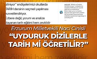 Yeni Müfredat Çalışmalarına Bir Tepki de Erzurum Milletvekili Naci Cinisli'den Geldi