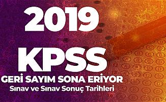 2019 KPSS için Sınav Giriş Yerleri Duyurusu Bekleniyor- KPSS Sınav ve Sonuç Tarihleri