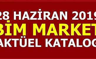 28 Haziran 2019 BİM Market Aktüel Ürünler Kataloğu