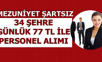 34 Şehre İŞKUR'dan Günlük 77 TL ile Personel Alımı