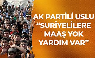 AK Parti'den 'Suriyelilere Maaş' Çıkışı: Maaş Yok, Yardım Veriliyor