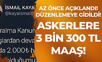 AK Partili Milletvekili açıkladı: Maaşlarda Düzenleme Yapıldı! 3 Bin 300 TL'ye Kadar Yükselecek