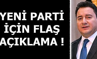 Ali Babacan'ın Danışmanından Yeni Parti Açıklaması
