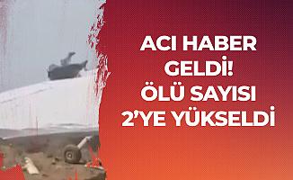 Antalya'dan Acı Haber! Uçak Kazasında Ölü Sayısı 2'ye Yükseldi