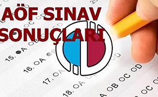 AÜ AÖF Final Sınav Sonuçları Açıklandı (Sonuç Sorgulama Ekranı)