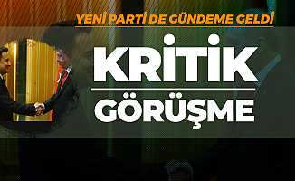 Cumhurbaşkanı Erdoğan, Yeni Parti Kuracağı İddia Edilen Ali Babacan ile Görüştü