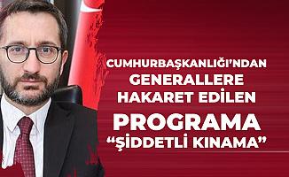 Cumhurbaşkanlığı'ndan Akit Tv'deki 'TSK'ya Hakaret' İfadelerine Kınama