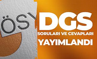 DGS Soruları ve Cevap Anahtarı Yayımlandı - 2019 DGS Yorumları