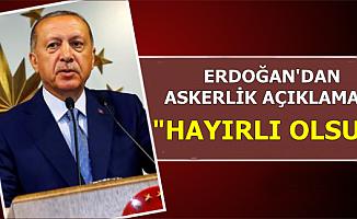 Erdoğan'dan TBMM'de Yeni Askerlik sistemi Açıklaması