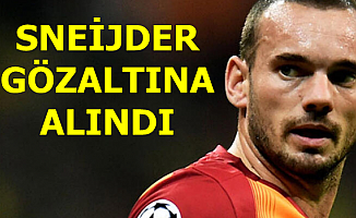 Flaş: Sneijder Gözaltına Alındı