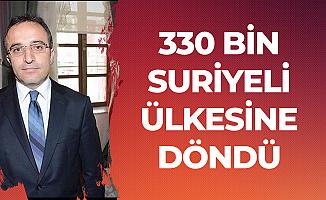 İçişleri Bakanlığı Sözcüsü , Ülkesine Dönen ve Türkiye'deki Kayıtlı Suriyeli Sayısını Açıkladı