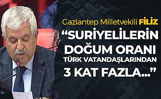 İYİ Parti Gaziantep Milletvekili İmam Hüseyin Filiz : Suriyelilerin Doğum Oranı Türklerden 3 Kat Fazla