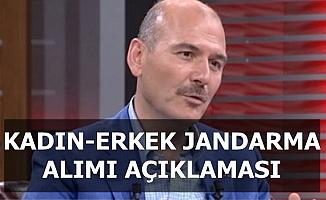 Bakan Soylu'dan Kadın-Erkek Jandarma-JÖH Alımı Açıklaması