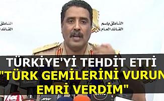 Libya'dan Türkiye'ye Savaş Tehdidi