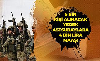 Milli Savunma Komisyonu Başkanı İsmet Yılmaz Açıkladı: Yedek Astsubaylara 4 Bin Lira Aylık Verilecek