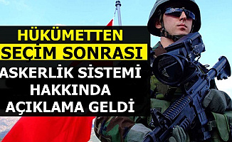 Seçim Sonrası AK Parti'den Tek Tip Askerlik Açıklaması