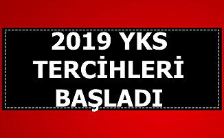 2019 YKS Tercihleri Başladı (ais.osym.gov.tr)