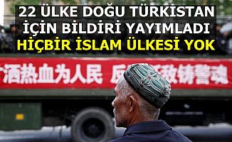 22 Ülke Doğu Türkistan'daki Çin Zulmü İçin Bildiri Yayımladı: Hiç İslam Ülkesi Yok