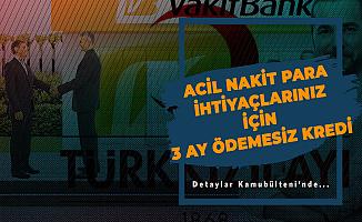 3 Ay Ödeme Yok! Vakıfbank 60 Ay Vade ile Tüketici Kredisi Kampanyası